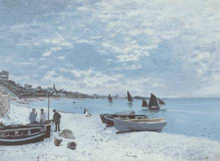 Monet_BeachAtSteAdress_1867