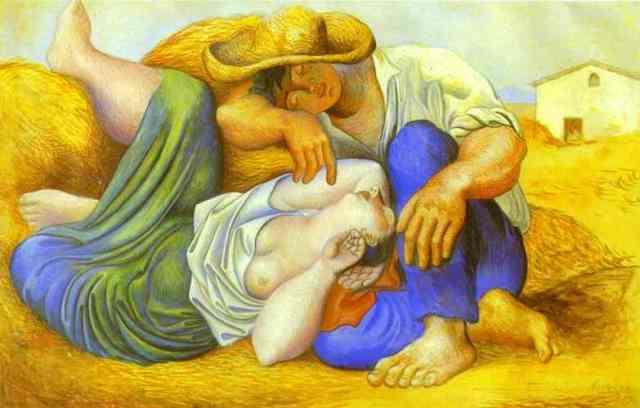 picasso_SleepingPeasant_1931