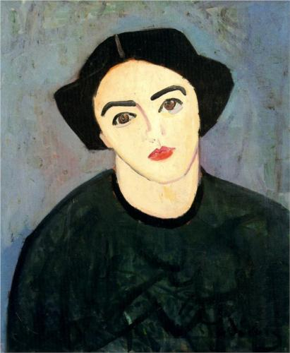AndreDerain_a-woman-with-green-dress-1907