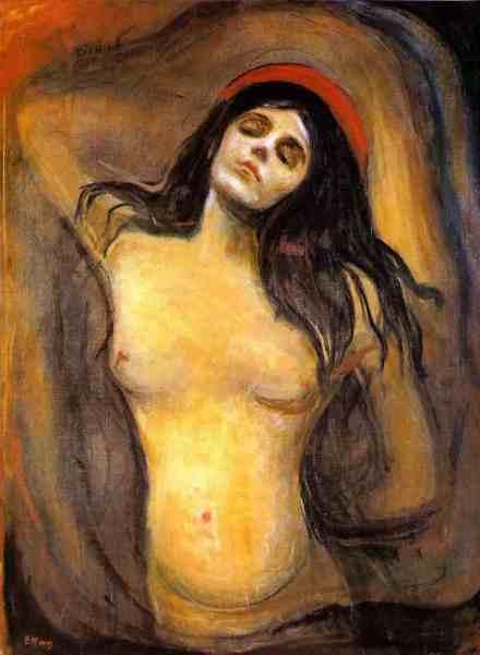 EdvardMunch_Madonna_1934