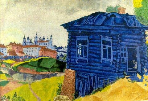 chagall-blue_house