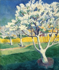 KasimirMalevich_AppleTreeInBlossom_1904