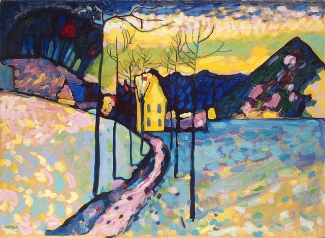 Kandinsky_Winter-Landscape_1909