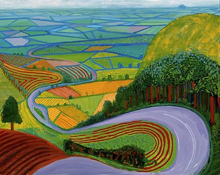 Hockney_Garrowby_hill_1998