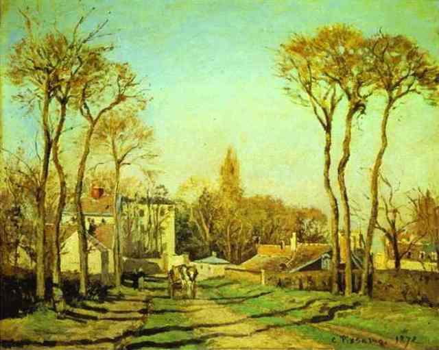 pissaro_Voisins_1872