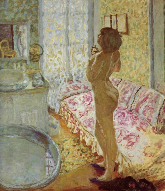 PierreBonnard_TheBathRoom_1908