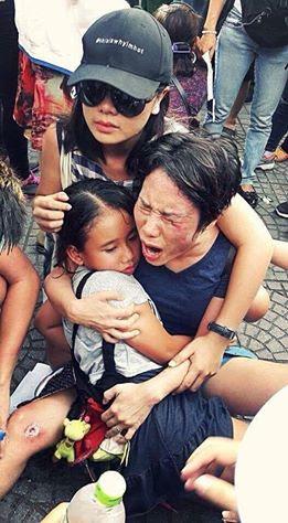Giờ phút quyết liệt trong lúc này, dân tộc Việt nam cần quí vị. Qua cuộc  biễu tình vừa rồi quí vị đã thấy chánh quyền Việt cộng đã đàn áp đánh ...